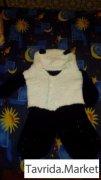 "Вязанный костюм ""панда"""