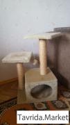 Дом для кошки. Когтеточка
