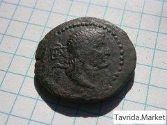 Античная монета Ассарий.Германик-Аспург.Пантикапей
