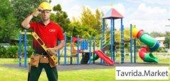 Рабочий по монтажу детских площадок