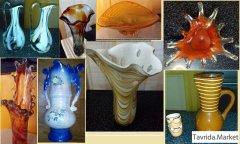 изделия из цветного стекла