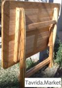 Деревянный складной стол