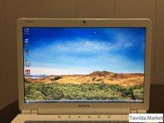 """НОУТБУК SONY VAIO: Экран """"14.1"""" + Intel Core T8100 (По 2.1 GHZ)"""