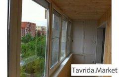 Остекление и благоустройство балконов.