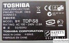 Проектор Toshiba TDP -S8