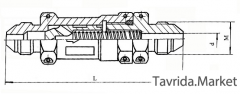 Обратный клапан ОК-12А, клапан обратный