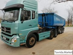 Тонар сцепка dongfeng 2007