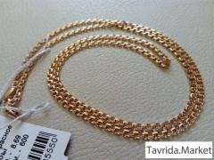 "Новая золотая цепь ""Бисмарк"" 585 пр, 8,69 грамм"