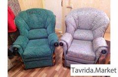 Перетяжка и ремонт всех видов мягкой мебели