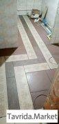 Укладка плитки, установка дверей