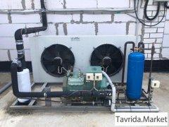 Установка промышленного холодильного оборудования