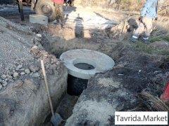 Работы по водоснабжению и водоотведению